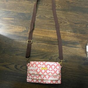 Coach Crossbody Wallet Bag